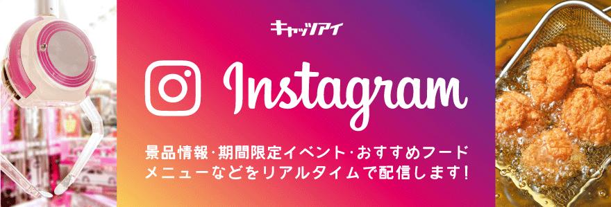 Instagramで情報配信中!!